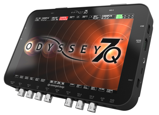 Odyssey7Q Professional Monitor/Recorder